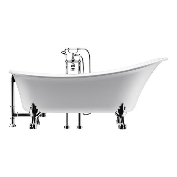 Dorya 69 x 30 Freestanding Soaking Bathtub by A&E Bath and Shower