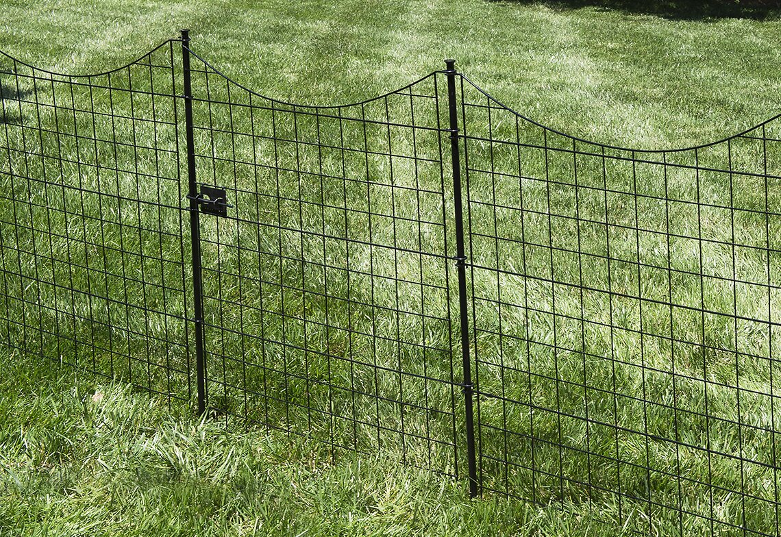 Zippity Outdoor Products 42 in. x 35 in. Zippity Garden Fence Gate ...
