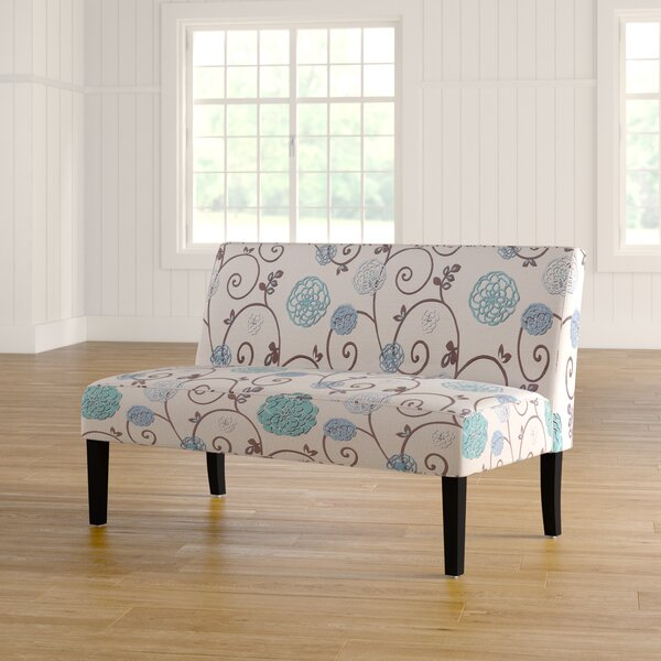 Nhat Floral Loveseat by Red Barrel Studio