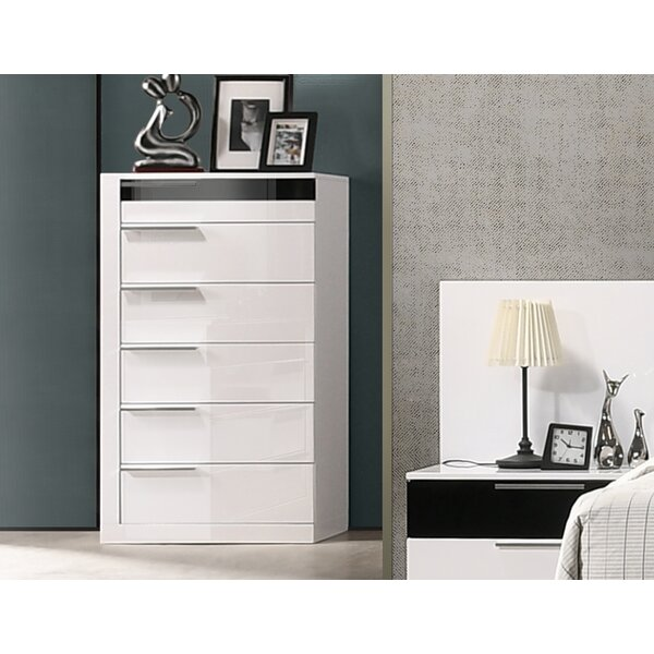 Fleeton Bedroom 6 Drawer Standard Dresser by Orren Ellis