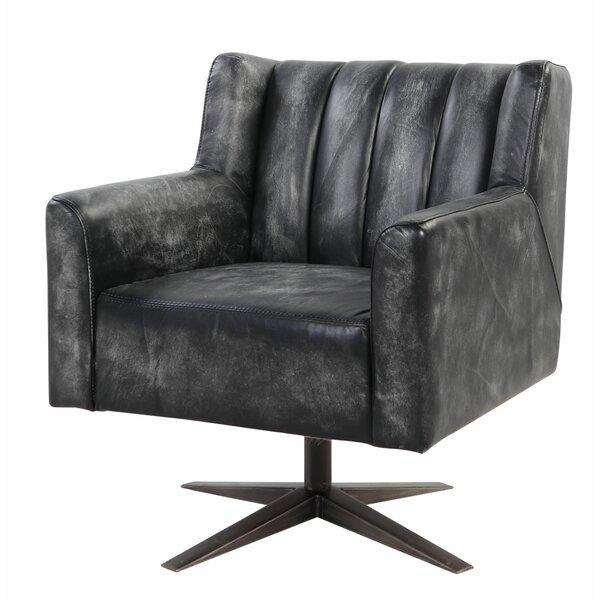 Yuliana Genuine Leather Executive Chair