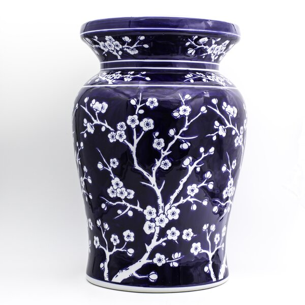 Paugh Ceramic Garden Stool by World Menagerie World Menagerie