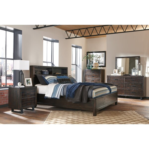 Randolph 6 Drawer Double Dresser with Mirror by World Menagerie