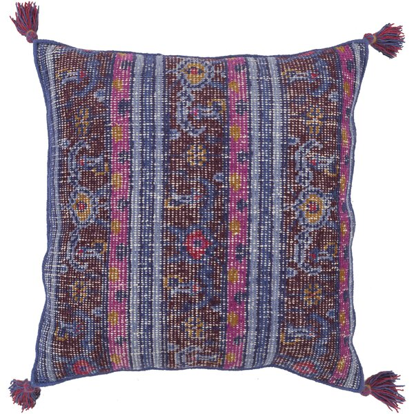 Cantrell Hand-knotted Indoor Throw Pillow by Bungalow Rose