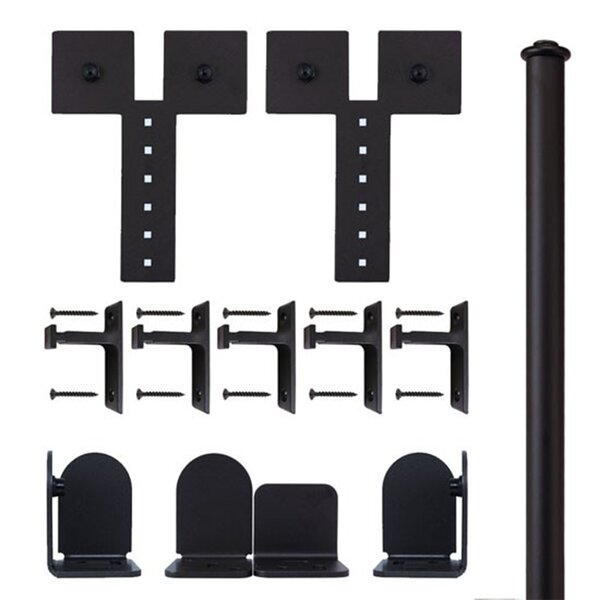 Dually Rolling Barn Door Accessory Kit by Quiet Glide