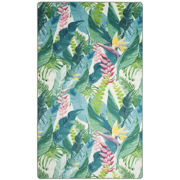 Portage Green Area Rug by Bay Isle Home