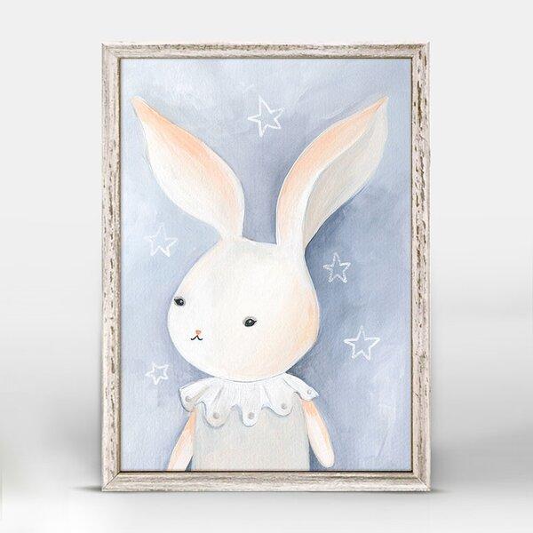 Kacey Lillie The Bunny Mini Framed Canvas Art by Harriet Bee