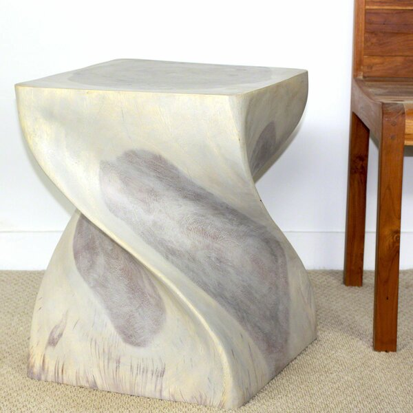 Decarlo Big Twist End Table by World Menagerie