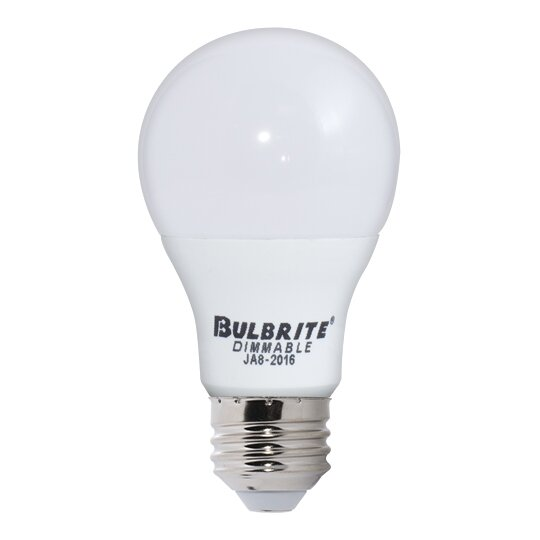 9W Frosted E26 LED Light Bulb (Set of 3) by Bulbrite Industries