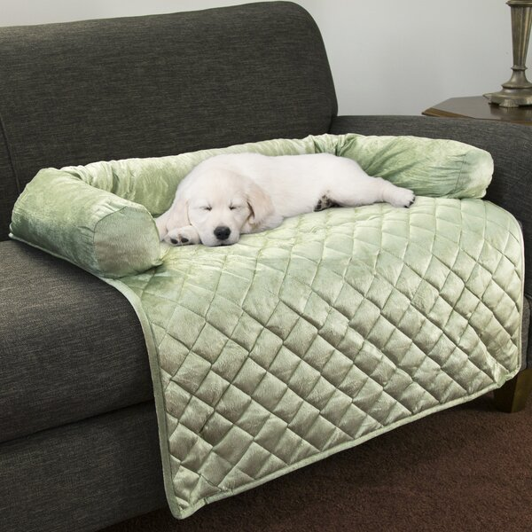 Box Cushion Loveseat Slipcover By Petmaker