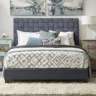 Ellerbe Queen Upholstered Panel Bed by Wrought Studio