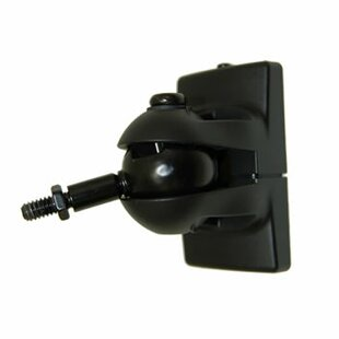 Universal Speaker Wall Mount in Black Pinpoint Mounts