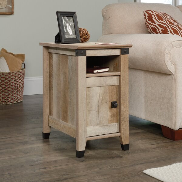 Ellicott Mills End Table With Storage by Andover Mills