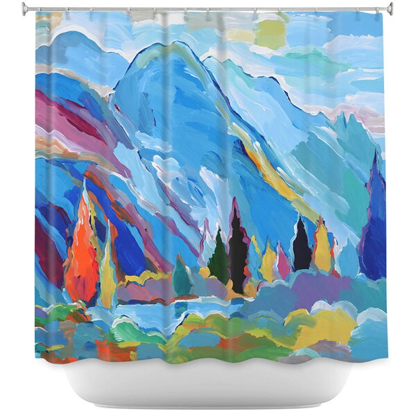 Colorado Composition Shower Curtain by East Urban Home