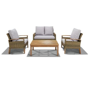 Wooldridge 4 Piece Outdoor Sofa Set By Gracie Oaks