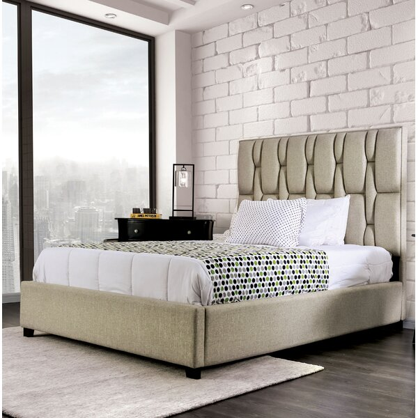 Richland Upholstered Standard Bed by Brayden Studio
