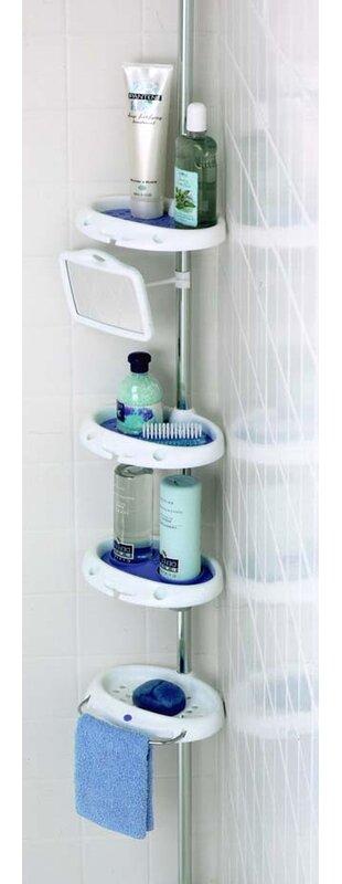Zenith Corner Shower Caddy & Reviews | Wayfair