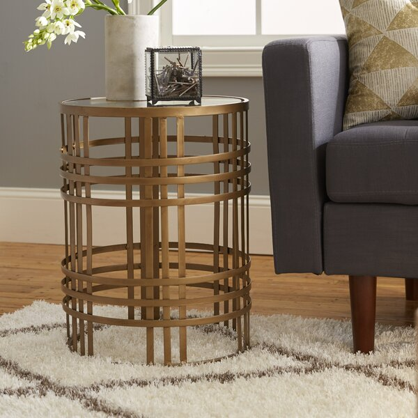 Valerio Large Barrel End Table By Willa Arlo Interiors