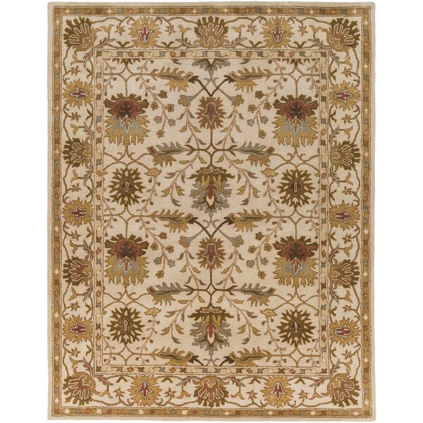 Dyer Avenue Hand-Tufted Ivory Area Rug by Charlton Home