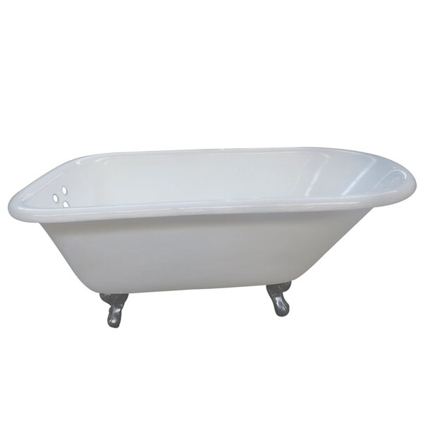 Aqua Eden 60 x 30.13 Soaking Bathtub by Kingston Brass