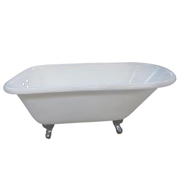 Aqua Eden 60 x 30.13 Soaking Bathtub by Kingston Brass