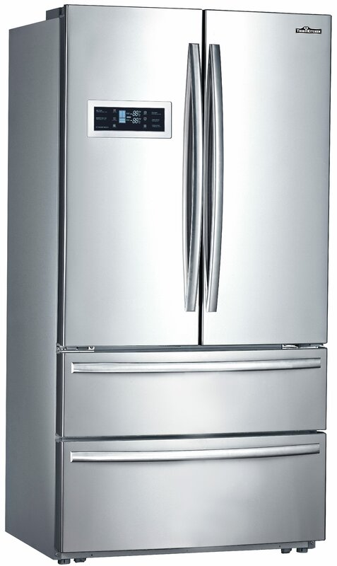Counter-Depth French Door Refrigerator & ThorKitchen 20.85 cu. ft. Counter-Depth French Door Refrigerator ...