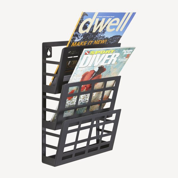 Grid 3 Pocket Magazine Rack by Safco Products Company