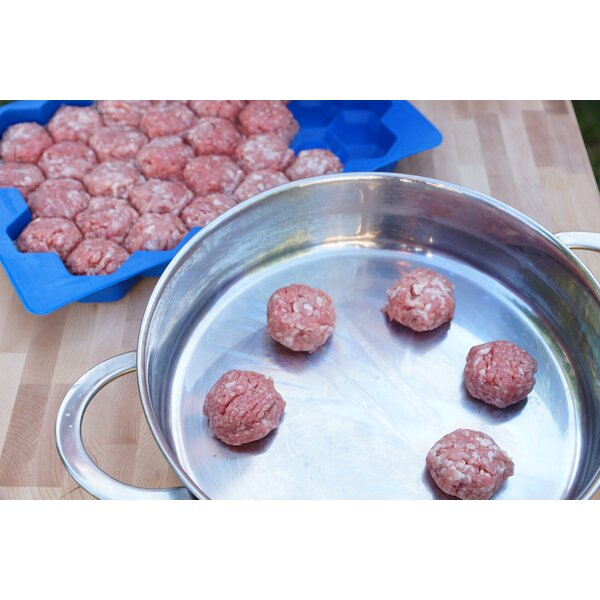 Meatball Master Freezer Container by Shape + Store