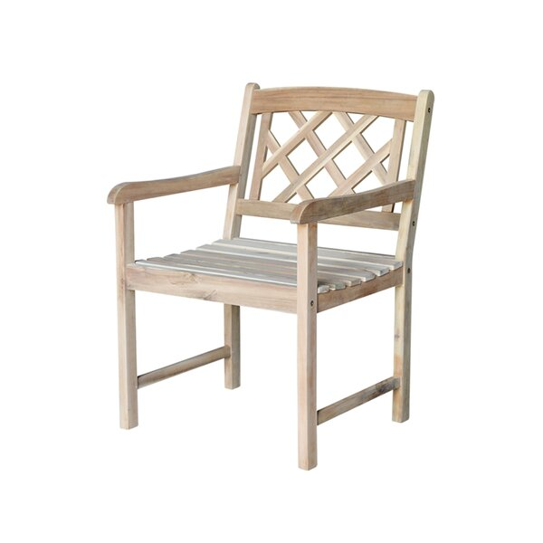 Jeffreys Patio Dining Chair by Charlton Home