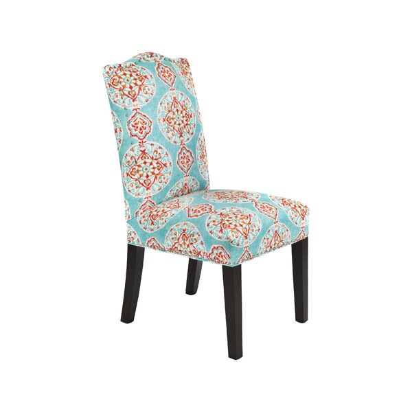Mirage Upholstered Dining Chair (Set of 2) by Loni M Designs