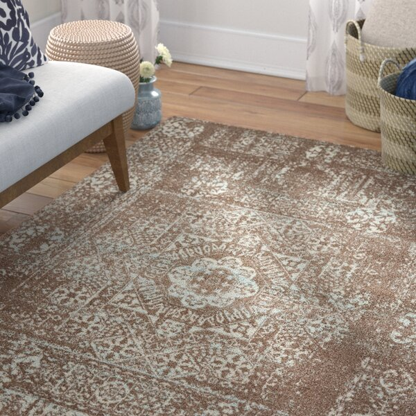 Narelle Light Brown Area Rug by Mistana