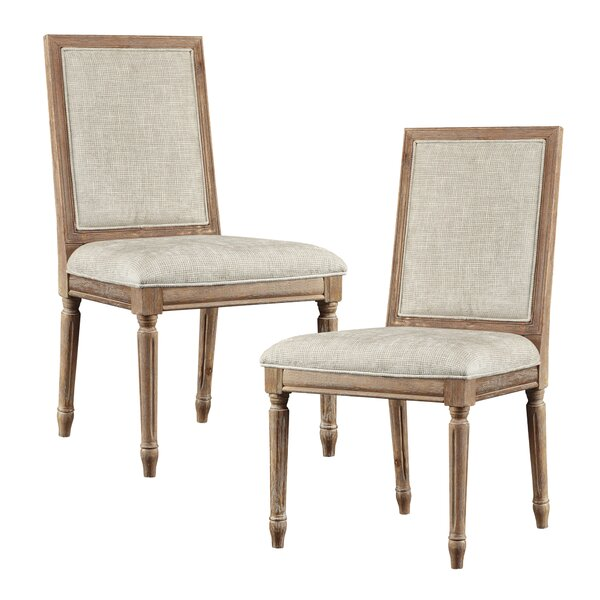 Upholstered Dining Chair (Set of 2) by Madison Park Signature