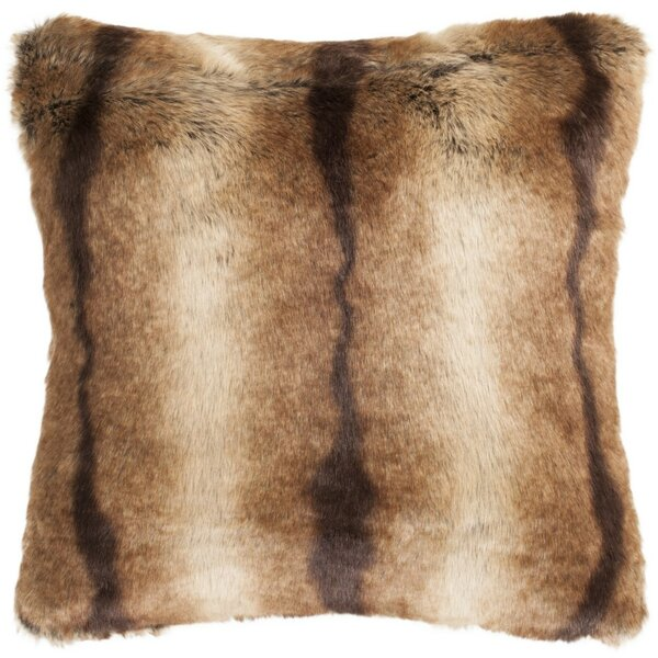 Kelly Faux Luxe Throw Pillow by Loon Peak