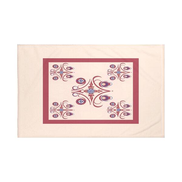 Hanky Geometric Print Throw Blanket by e by design