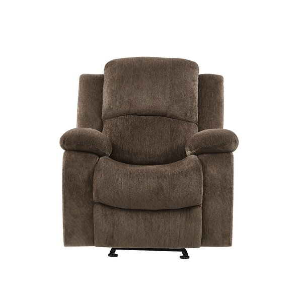 Soma Extra Plush Manual Glider Recliner Red Barrel Studio RDBA2665