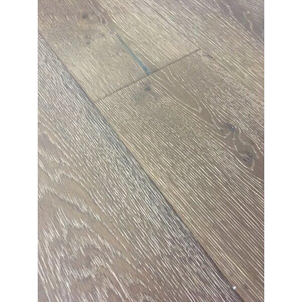 Rome 7.5 Engineered Oak Hardwood Flooring in Pearl Gray by Dekorman