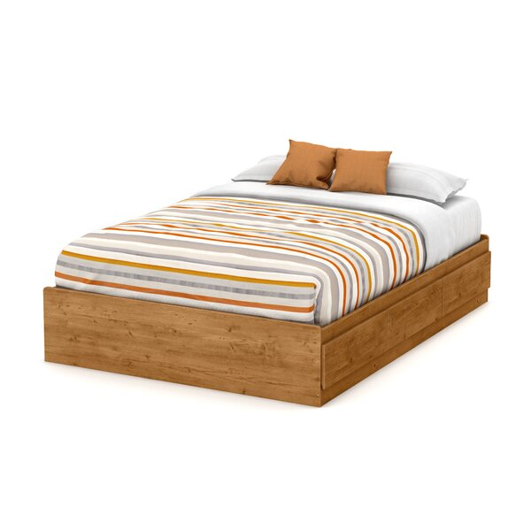 Little Treasures Full Mates & Captains Bed with Drawers by South Shore
