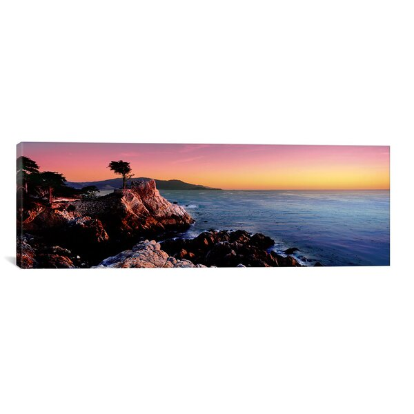 Panoramic 17-Mile Drive, Carmel, California Photographic Print on Wrapped Canvas by iCanvas