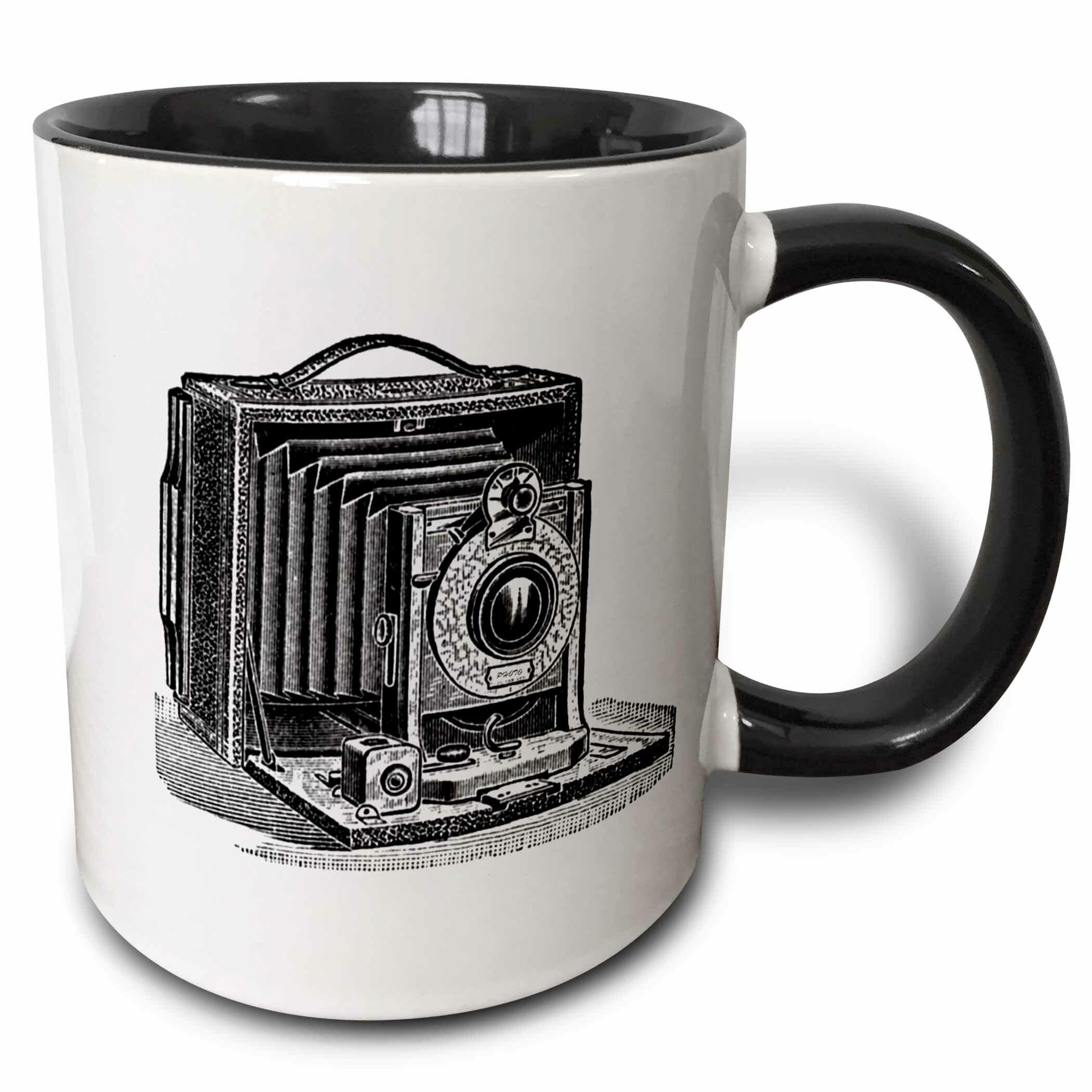 Life Is Like A Camera 11oz mug Printed Ceramic Coffee//Tea Cup