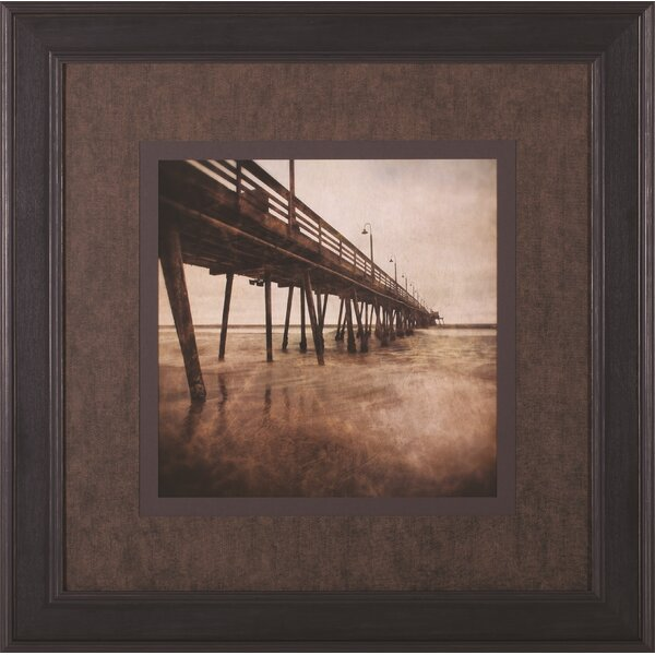 Vintage Pier I Ryan Hartson-Weddle Framed Photographic Print by Art Effects