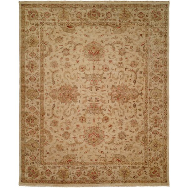 Gurdaspur Hand-Knotted Earth Tones Area Rug by Meridian Rugmakers