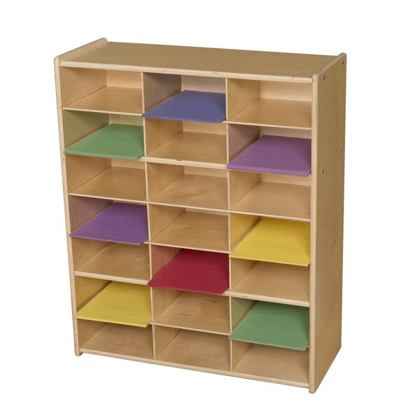 Mailbox 21 Compartment Cubby by Wood Designs