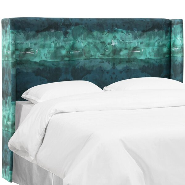 Staudt Upholstered Wingback Headboard by Latitude Run