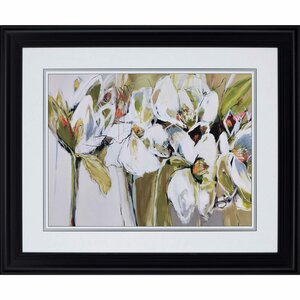Spring Blooms Framed Painting Print by Paragon