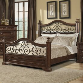 Sakamoto Standard Bed by Fleur De Lis Living