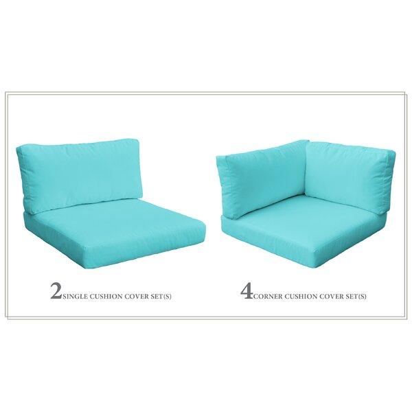 Monaco 16 Piece Outdoor Cushion Set by TK Classics
