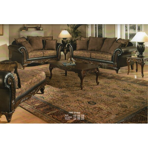 Oswego Wood 3 Piece Coffee Table Set by Astoria Grand