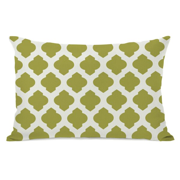 All Over Moroccan Lumbar Pillow by One Bella Casa