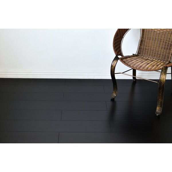 Tyrell 7 x 48 x 12mm Oak Laminate Flooring in Black by Serradon