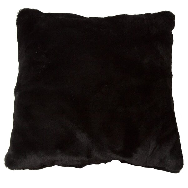 Luxury Decorative Faux Fur Throw Pillow by Posh365